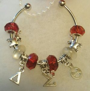 Delta Sigma Theta Bangle Bracelet
